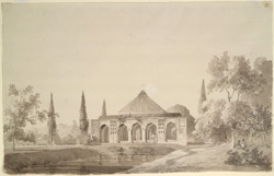 Jahangir Khan's Garden, Najibabad (U.P.). 30 March 1789